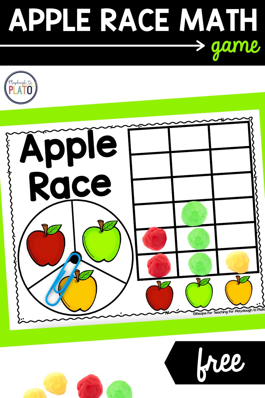 Apple Race Math Game