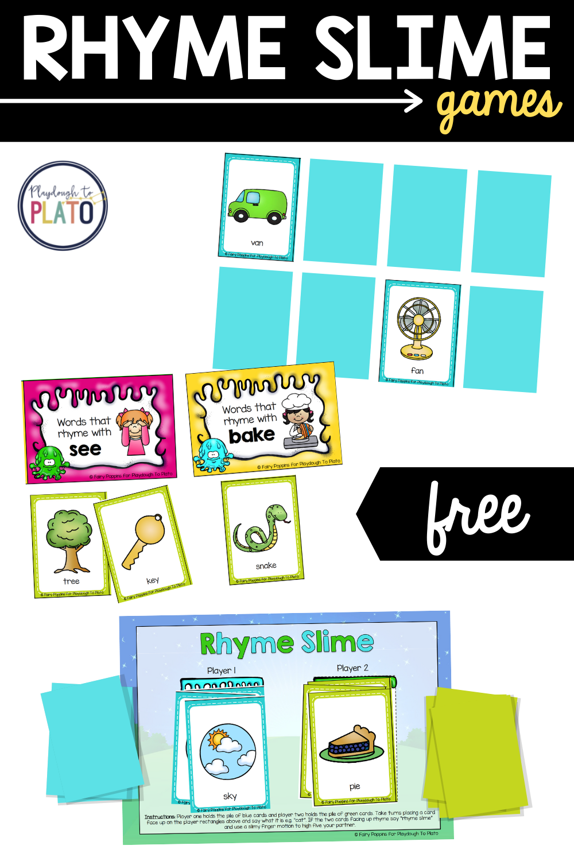 Rhyme Slime Games